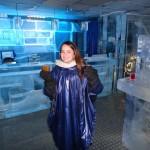 at the Ice Bar!