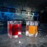 Ice Bar - ice glasses