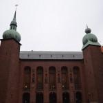 Stadshuset - inside courtyard