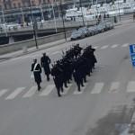 guards doing their walk around