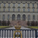 the Royal Palace (this side faces the water)