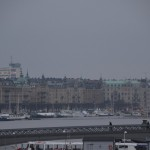 pretty Stockholm (see all the boats?)