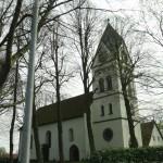 pretty church in a village we drove through