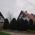 pretty traditional style German house (though it was new - only 15 years old)