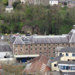 St. Anne's Shandon Church - view from the top - Heineken Brewery building