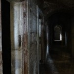 Cork City Gaol - one of the creepy hallways not on the tour..