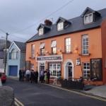 Kinsale - pub with a wedding reception going on