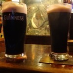 Kinsale- the Spaniard - our first Guinness of the trip