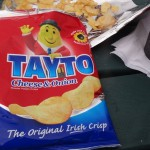 Snack at the Mizen Head - coffee and Taytos!