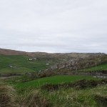 Co. Cork - Beara Peninsula  drive- I think the green hillsides broken up by the stone walls are really beautiful.