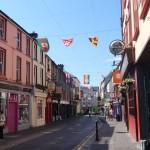 colorful streets in Killarney