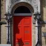 colorful door in Cork