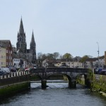 Cork - looking down the River Lee