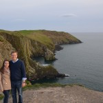 Kinsale (the area behind us up on those cliffs is the golf course)