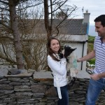 Co. Cork- Success! Me and the cute little lamb!