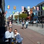 Killarney - coffee in the sunshine