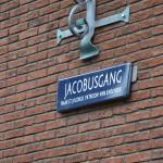 Jacobus street next to the church