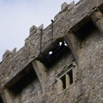Blarney Castle - here you can see where you lean back to kiss the stone