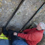 Blarney Castle - Morgan's turn