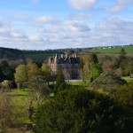 Blarney Castle -  view from the top of Blarney House