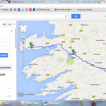 Sunday driving route