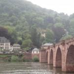 Alte Brücke and the Neckar River