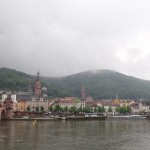 looking at Heidelberg from the far side of the river