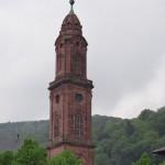 steeple for the Jesuitenkirche