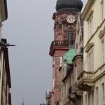 walking on Hauptstrasse