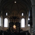 Dom St. Peter - looking towards the alter and the Holy Robe Chapel up above