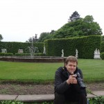 Morgan in action at the Palastgarten