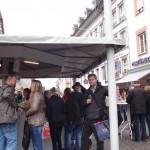 wine at Hauptmarkt