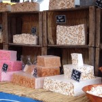 Place Guillaume II - farmers market - nougat stand!