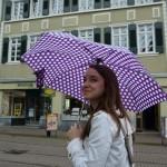 walking around in the rain...