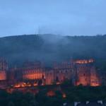 the Schloss at night
