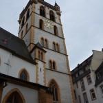 walking around town - St. Gangolf church right off of Hauptmarkt