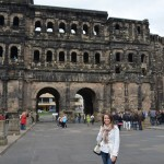 back at the Porta Nigra (with less crowds this time)