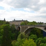 and the Pont Adolphe from Place de la Constitution