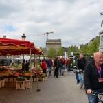 Place Guillaume II - farmers market