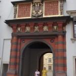 outside the Hofburg