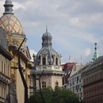 Walking around Budapest..