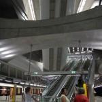 brand new line 4 subway station