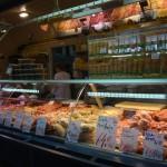 Nagy Vasarcsarnok - meat counter