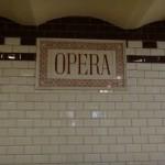 headed to the Opera