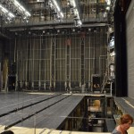 Vienna Opera House - itis huge back stage!