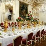 Hofburg - dining room