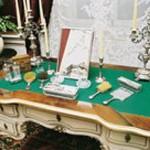 Hofburg - Sisi's dressing table
