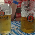 .5L Alster (for me) and a Mass (for Morgan)