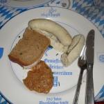 weiswurst for dinner