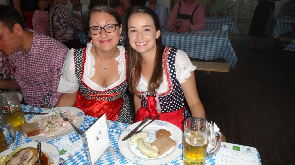 Svenja and I twining!